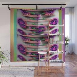 Whorls and Swirls Elongated Wall Mural