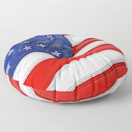 Patriotic North Dakota Floor Pillow