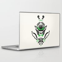 new zealand Laptop & iPad Skins featuring New Zealand  by Carly Hitchcock