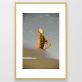 vanished memories Framed Art Print