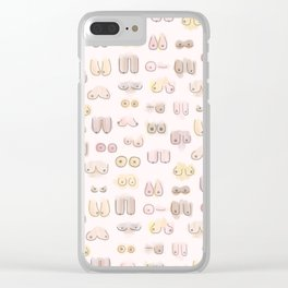 Hakuna your tatas Clear iPhone Case