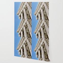 Roman Temple Corinthian Columns Nimes Provence France Wallpaper