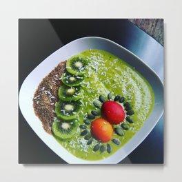 Choose life & eat to live Metal Print