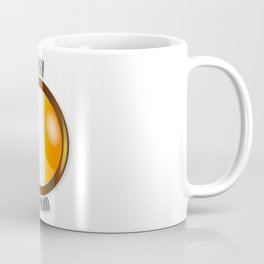 Irish Proud Flag Button Coffee Mug