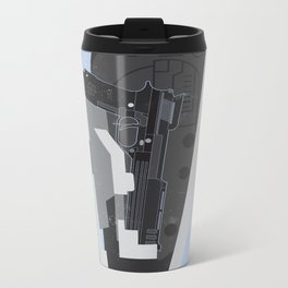 Robocop —Movie Poster Metal Travel Mug