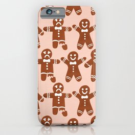Gingerbread Men – Blush Palette iPhone Case