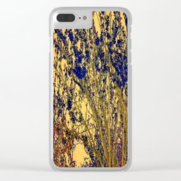 Nature Abstract - Art Clear iPhone Case