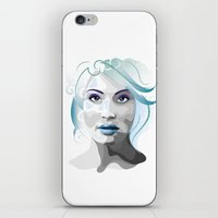 gemma iPhone & iPod Skins featuring Gemma by Ketina