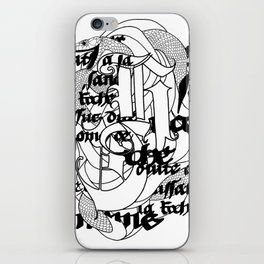 The Serpent iPhone Skin