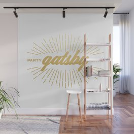 Party Like Gatsby Wall Mural