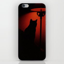 catcat iPhone Skin