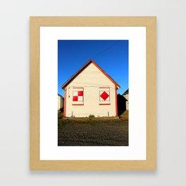 Norwegian Park, Hansville, WA Framed Art Print