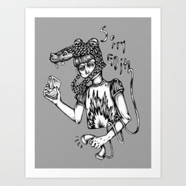 Sorry Edith Art Print