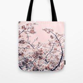 Pink Spring Flowers Tote Bag