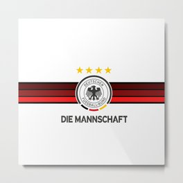 Germany Football team - Die Mannschaft Metal Print