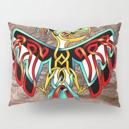 Thunderbird-knot Pillow Sham