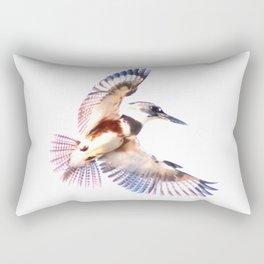 Colorful Kingfisher Rectangular Pillow