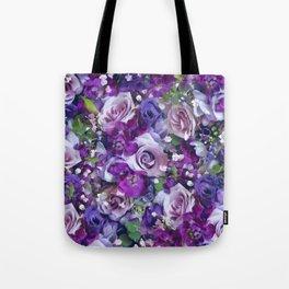 Romantic flowers III Tote Bag
