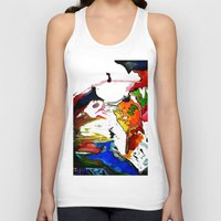 olivia joy Tank Tops featuring Joy by Aaron Carberry