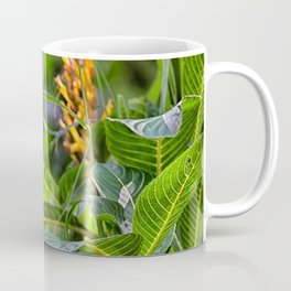 Yellow flower in the rain forest Coffee Mug
