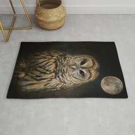 Barred Owl and the Moon Rug