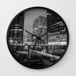 NIGHT LIGHT - Limited Edition Wall Clock