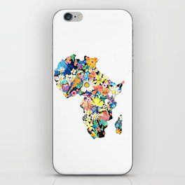 Map of Africa iPhone Skin