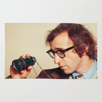 woody allen Area & Throw Rugs featuring WOODY ALLEN by VAGABOND