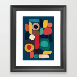 Miles and miles Framed Art Print