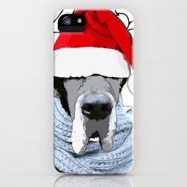Feliz Navidog iPhone Case