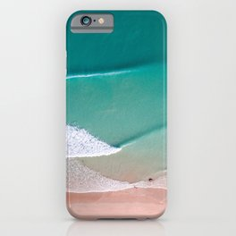 Waves in Sheets iPhone Case