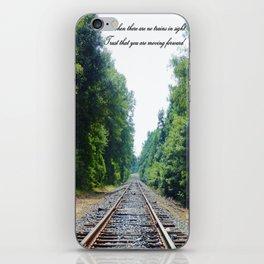 TRAIN Tracks iPhone Skin