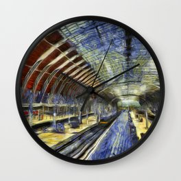 Paddington Railway Station Art Wall Clock