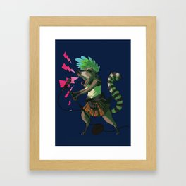 C is for Coatimundi Framed Art Print