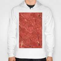 meat Hoodies featuring mEAT by Jevan Strudwick
