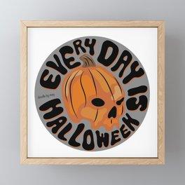 Every Day is Halloween Framed Mini Art Print