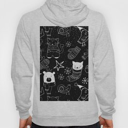 Merry Christmas-Simple X-mas Fun Doodle-Mix and Match with Simplicity of Life Hoody
