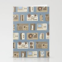 technology Stationery Cards featuring Obsolete Technology by Daniel long Illustration