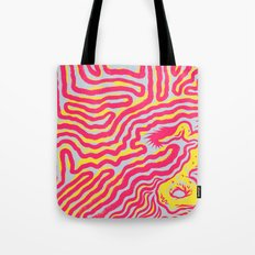 Coral Dud Tote Bag
