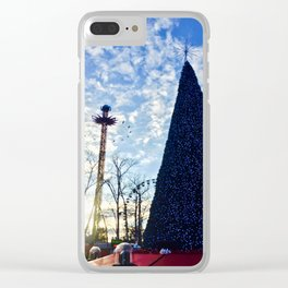 Christmas in the Park Clear iPhone Case