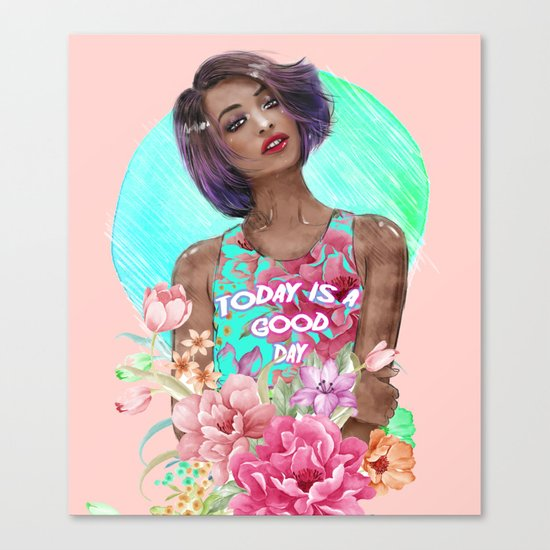 Going Floral  Canvas Print