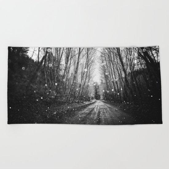 Follow the Fireflies Beach Towel