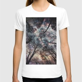 Starry Sky in the Forest T-shirt