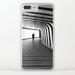 Futuristic Underground Clear iPhone Case