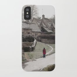 i feel winter... iPhone Case