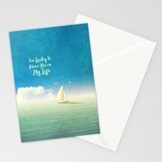 Lucky - for iphone Stationery Cards