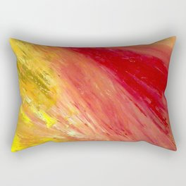 Abstract Untitled by Robert S. Lee Rectangular Pillow