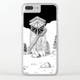 Watch Tower Clear iPhone Case