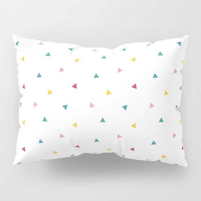 Fresh happy triangels Pillow Sham