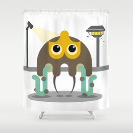 Lonely Creature Shower Curtain